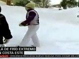 Ola de frío invernal afecta Estados Unidos