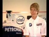 Sebastian Vettel BMW Sauber F1 Launch Interview (01)