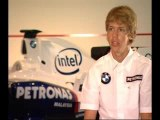 Sebastian Vettel BMW Sauber F1 Launch Interview (02)
