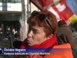 Sanofi-Aventis: manifestations contre les suppressions de postes
