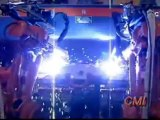 Dual Robotic Bumper Welder