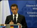 Neige en IdF : Sarkozy reconnait des lacunes