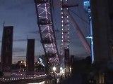 Parliament, Big Ben, Dali and the London Eye at night