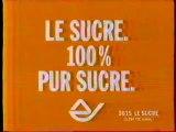 Publicité Le Sucre 100% Pur Sucre 1998