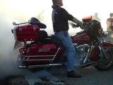 Harley Bike Night April 2010 Burnout