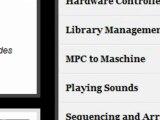 Maschine tutorials site preview Native Instruments