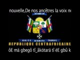 Centrafrique Musique - Hymne Nationale Centrafricain