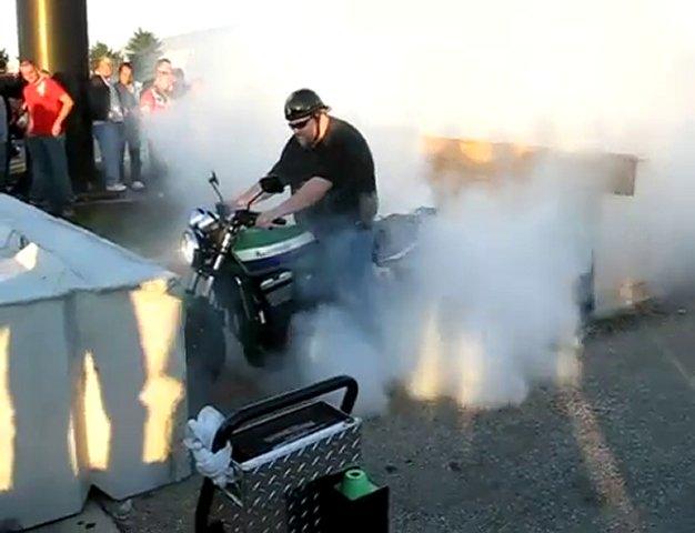 Harley-Davidson Burnout