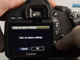 How to Restore a Canon T2i to Default Settings
