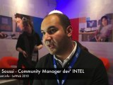 interview Slim Soussi community manager Intel Leweb10