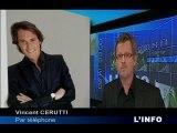 Vincent Cerutti, de LM TV à TF1