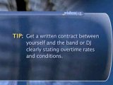 How To Save Money On The Band Or Disc Jockey For Your Party : How can I save money on the band or disc jockey for my party?