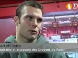 Hockey : résumé du match Amiens Rouen du 10-12-2010