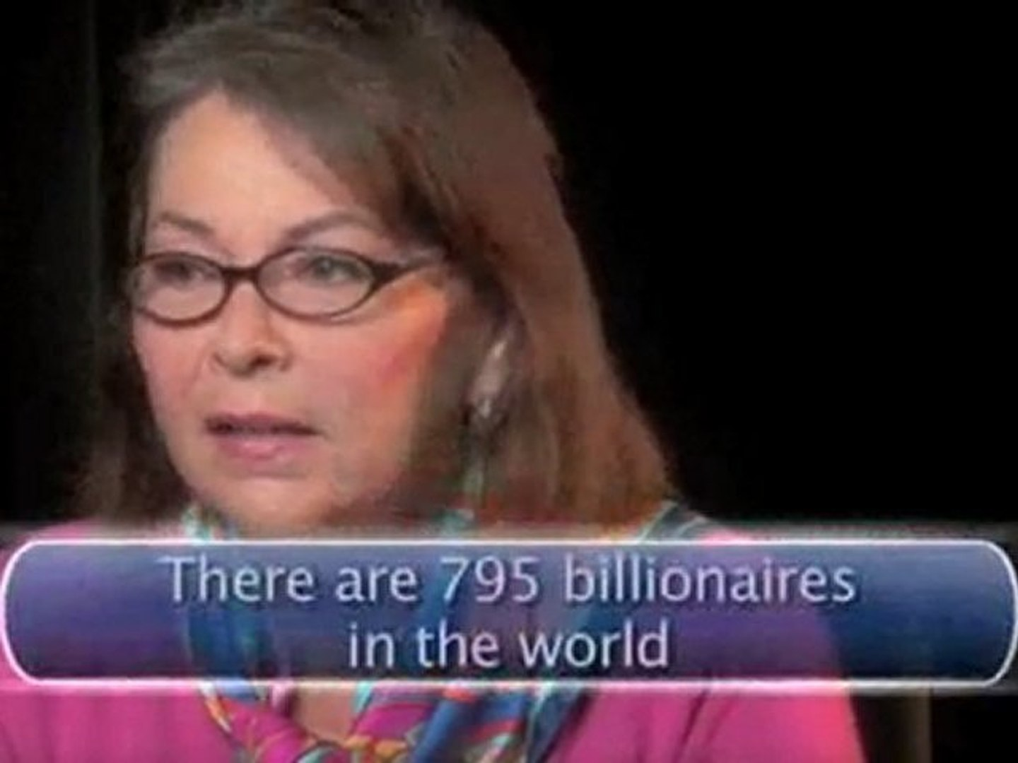 Roseanne On Money : What's wrong with the super-rich?