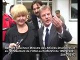 Enquête trafic d'organes au Kosovo - Le rire de Kouchner