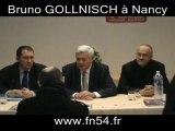 FN - Bruno Gollnisch à Nancy - Conférence de presse  12/2010