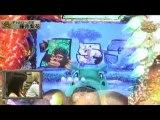 【パチンコ動画】CR獣王-ボタン連打-大当たり