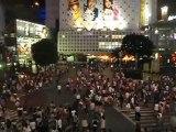 Tokyo Le fameux carrefour de Shibuya 2009