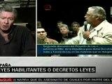 En cualquier país las constituciones otorgan poderes especiales (politólogo español)