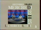 Bande Annonce  De L'emission Histoires Vraies 1 Mai 1991 LA5