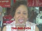 Milton Ruben Toyota Augusta GA Rating