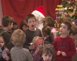 Les arbres de Noël de la garderie, du football et du basket