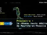 Proximit-e : le réseau Hauts débits de Meurthe-et-Moselle