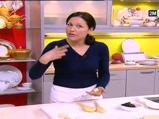 Choumicha - Petits fours pistache et datte