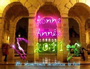 Cité internationale universitaire de Paris - Voeux 2011
