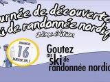 Journée de découverte du ski de randonnée nordique - 2011
