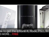 EXCLUSIVE!! FREE Iphone 4, Xbox 360 and PS3 !!!