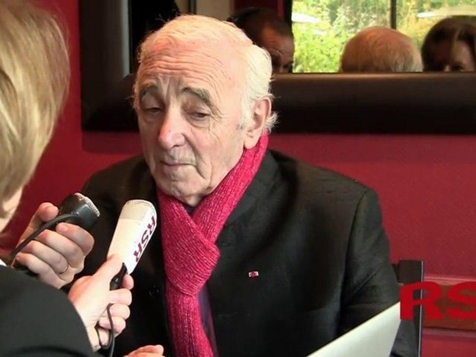 Alexandre Lemiere - Making of Aznavour Emission radio Pour un oui pour un son 64682