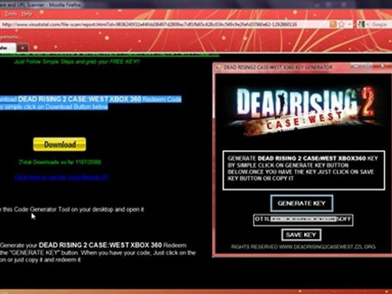 Download Deadrising2 Case West Xbox 360 Serial Keys 100 Video