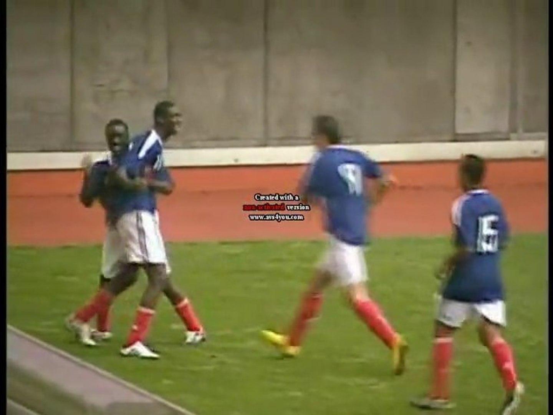 SUPER BUT DE YAYA SANOGO FRANCE BRESIL U19 CA VIENT DES ULIS