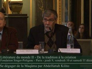 Vidéo de Abdelfattah Kilito