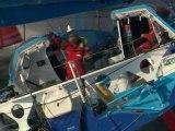 Jean-Pierre Dick et Loick Peyron à bord de Virbac-Paprec 3