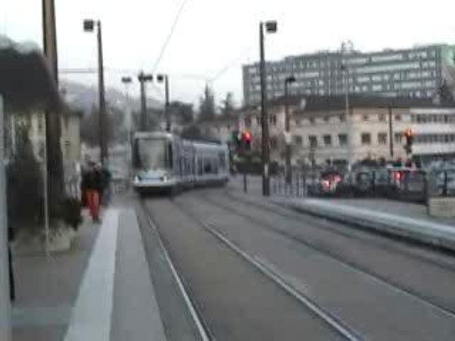 Grenoble en tramway