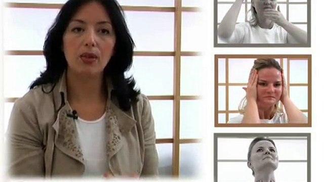Gamme Darphin : démonstration de l'auto-massage
