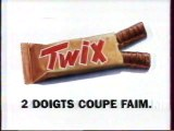 Publicité Twix 1995