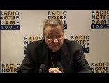 Entretien du Cardinal - Radio Notre Dame - 01/01/2011