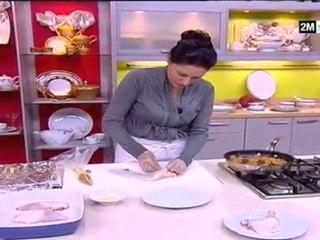 Recette cuisses poulet farcies aux fruits secs