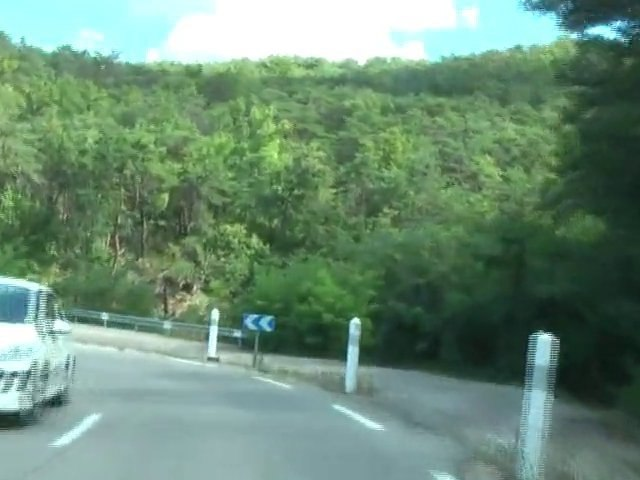 Haute Provence - Route bei Digne