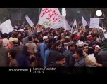 Islamist groups demonstrate in Pakistan - no comment