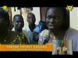 Visite de Mme Simone Gbagbo aux victimes de l'ONUCI