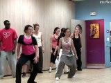 Cours de danse Ragga fuzion  extrait