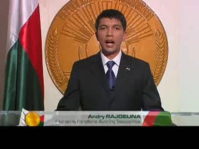 31/12/10 - Discours à la Nation du Président Andry RAJOELINA