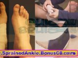 Sprained Ankle tratment Common Sports Injuries