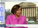 Jeanny Marc, députée apparentée socialiste de Guadeloupe