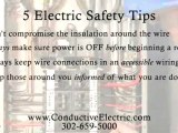 Electrician Dover:  Electrical Safety Tips