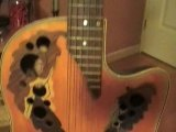 Presentation de ma guitare electro accoustique